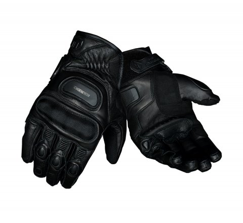 Black Bulwark Gloves