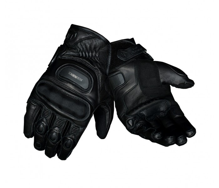 Black Bulwark Gloves